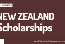 New Zealand Government Scholarships 2022-2023
