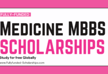 15 Fully-Funded Medicine (MBBS) Scholarships